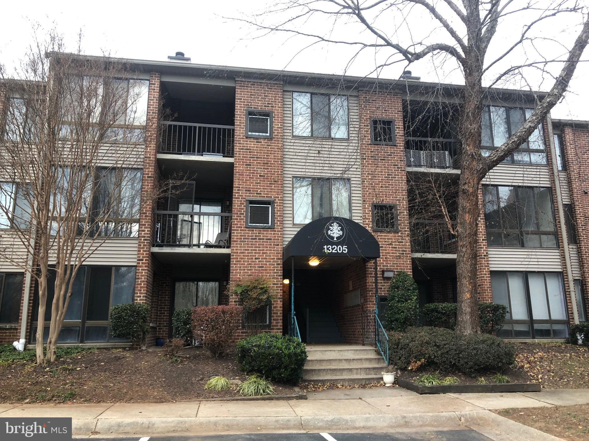 Second-level condo with 2 bedrooms and 2 baths.  Family Room has a wood burning fireplace.   Patio o