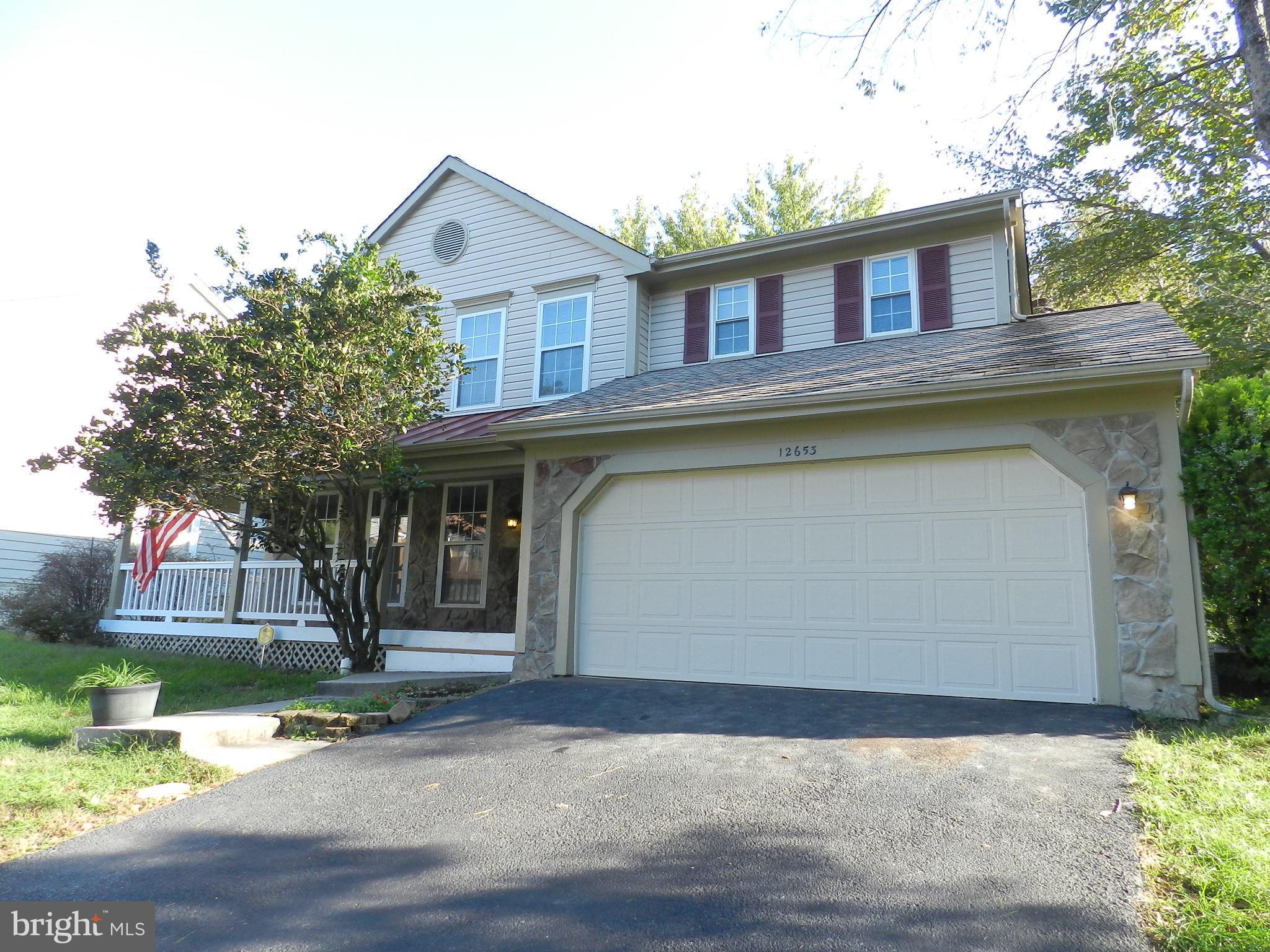 Fantastic find and what a location! Desirable Old Bridge Estates.  Two car garage home with sweet fr