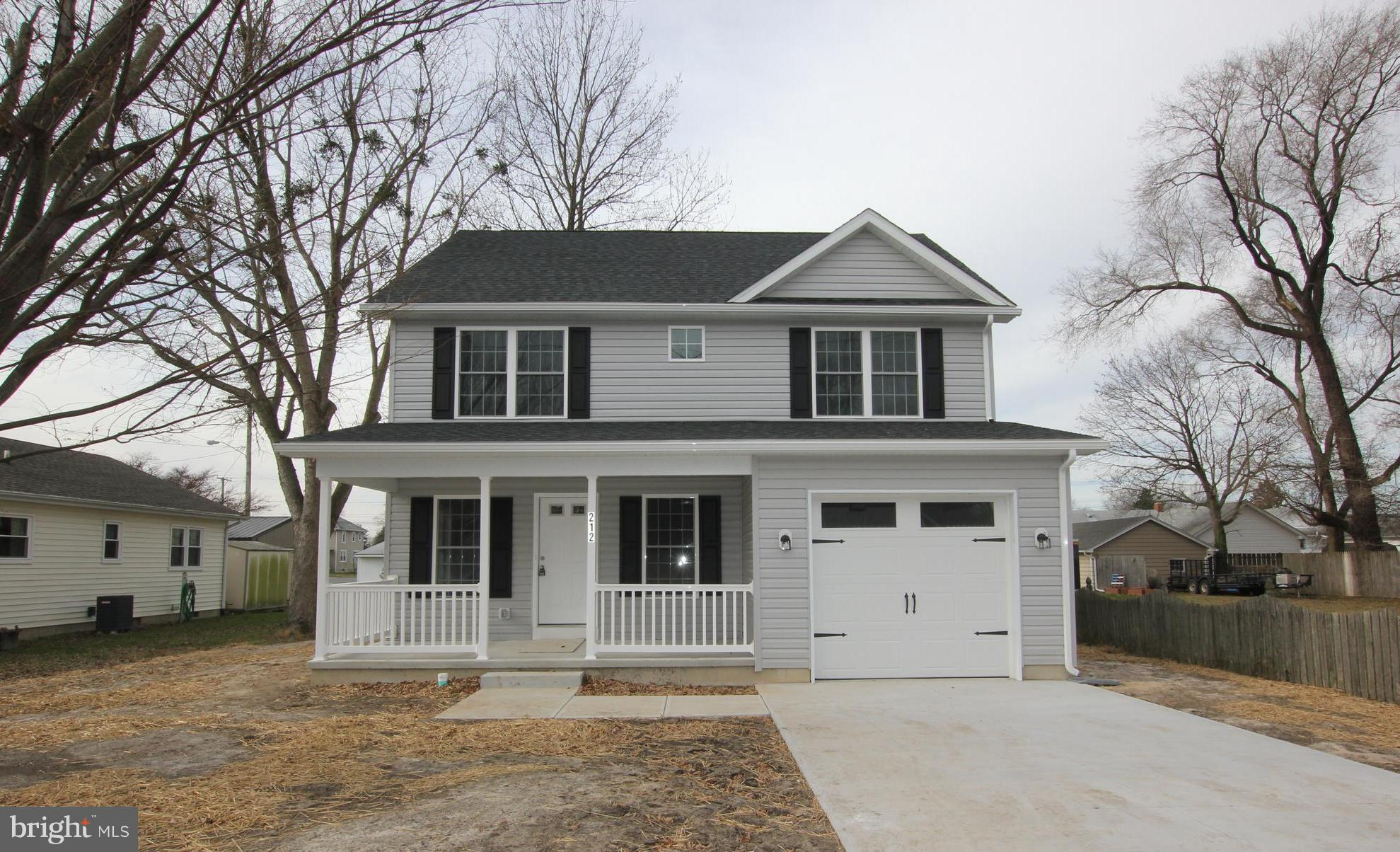 Brand New Construction home located in the town limits of Milford. The home features clean, modern f