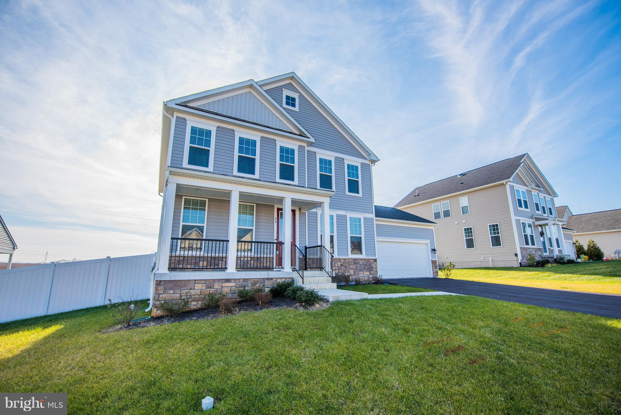 Ready to move in! SIX  (6) Bedrooms - two Master Suites!  4.5 Baths ~ This  is The Shenandoah model