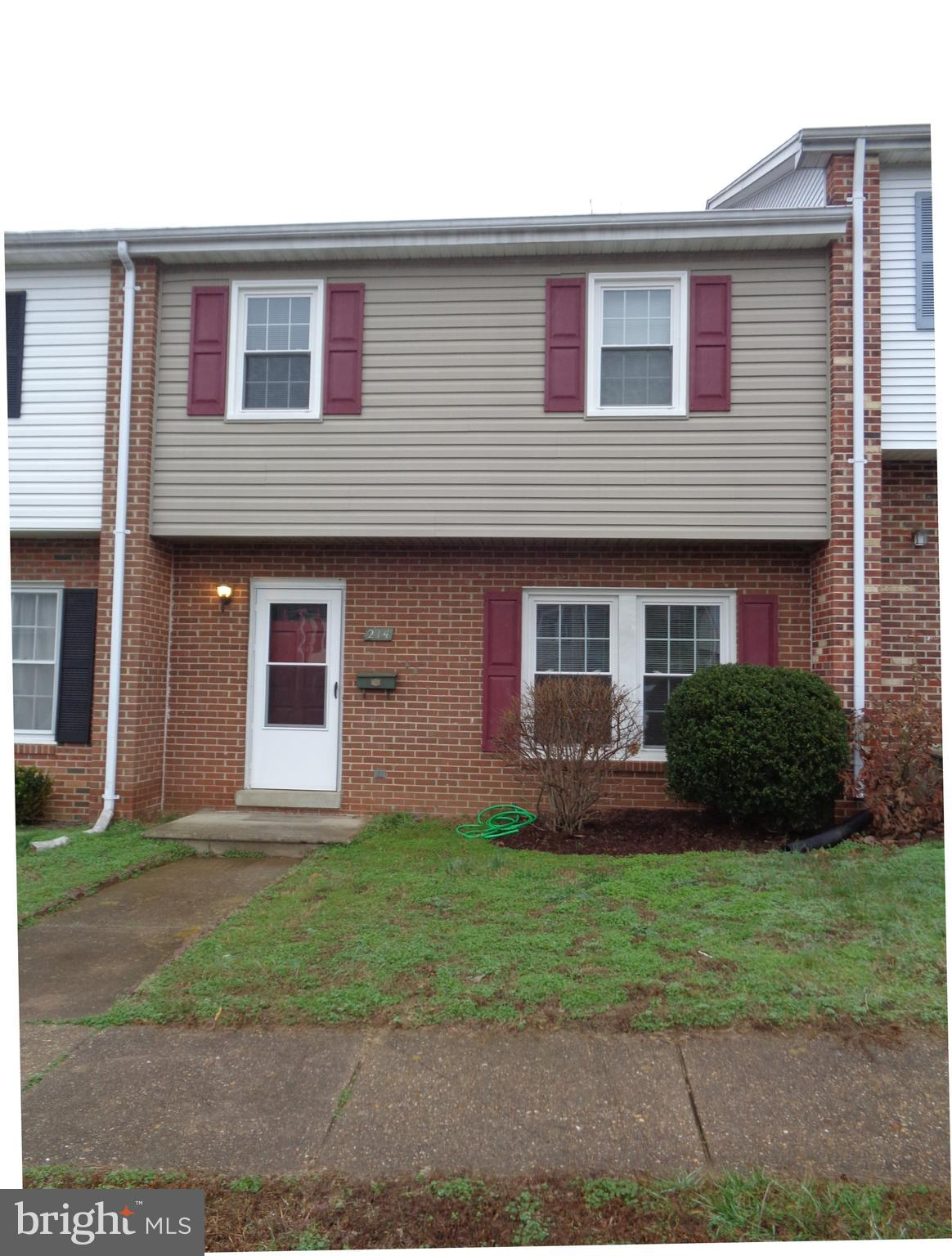 Spring Valley 3 Level townhome-previously renovated with windows, kitchen cabinets & appliances.  Al