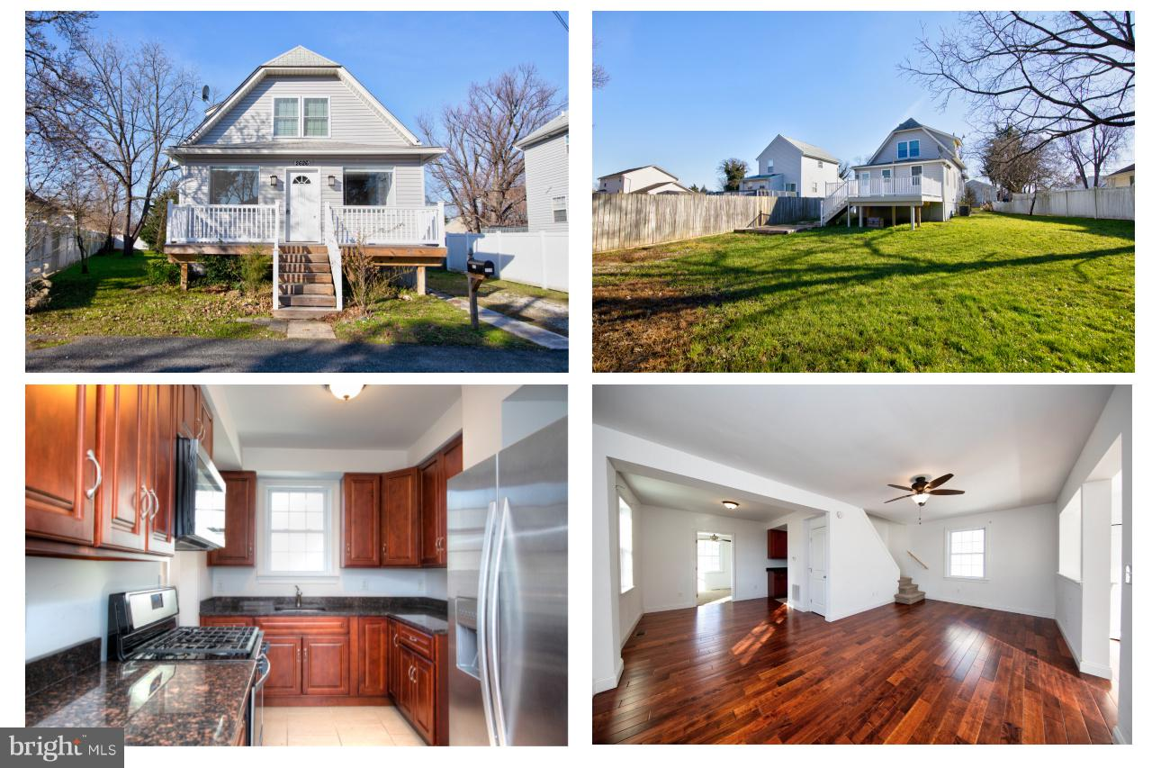 Beautiful renovated home with 3 bedrooms and 2 full bathrooms. Quality craftsmanship features an ope