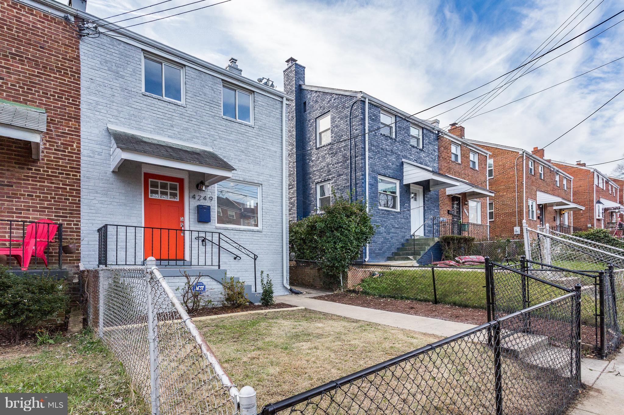 Beautifully renovated row house in Fort Dupont Park.  Open Floor plan, fully finished basement with