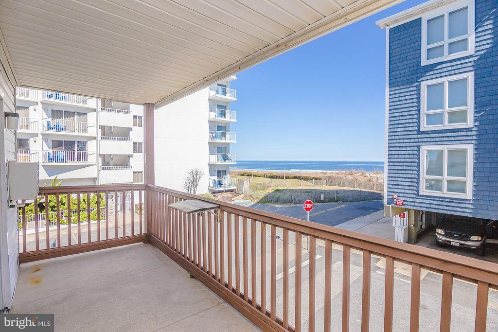 Prime northeast corner location in small-rise ocean block building.  Enjoy ocean views from almost e