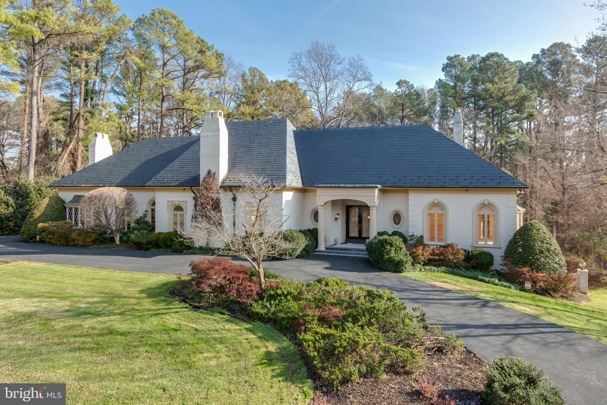 Magnificent construction and craftsmanship define this European style Villa built by John G. Georgel
