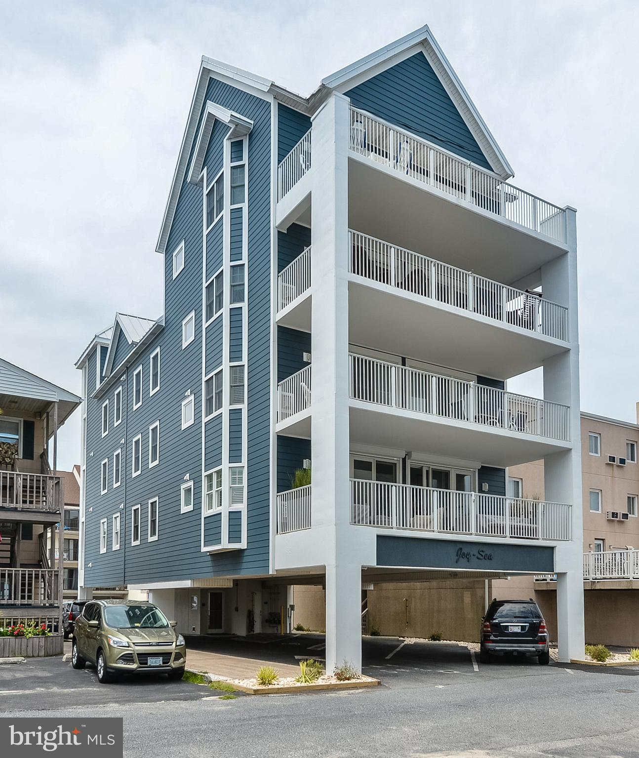 Incomparable North Ocean City condo in an intimate 3 unit building, ONLY 1 residence per floor!This