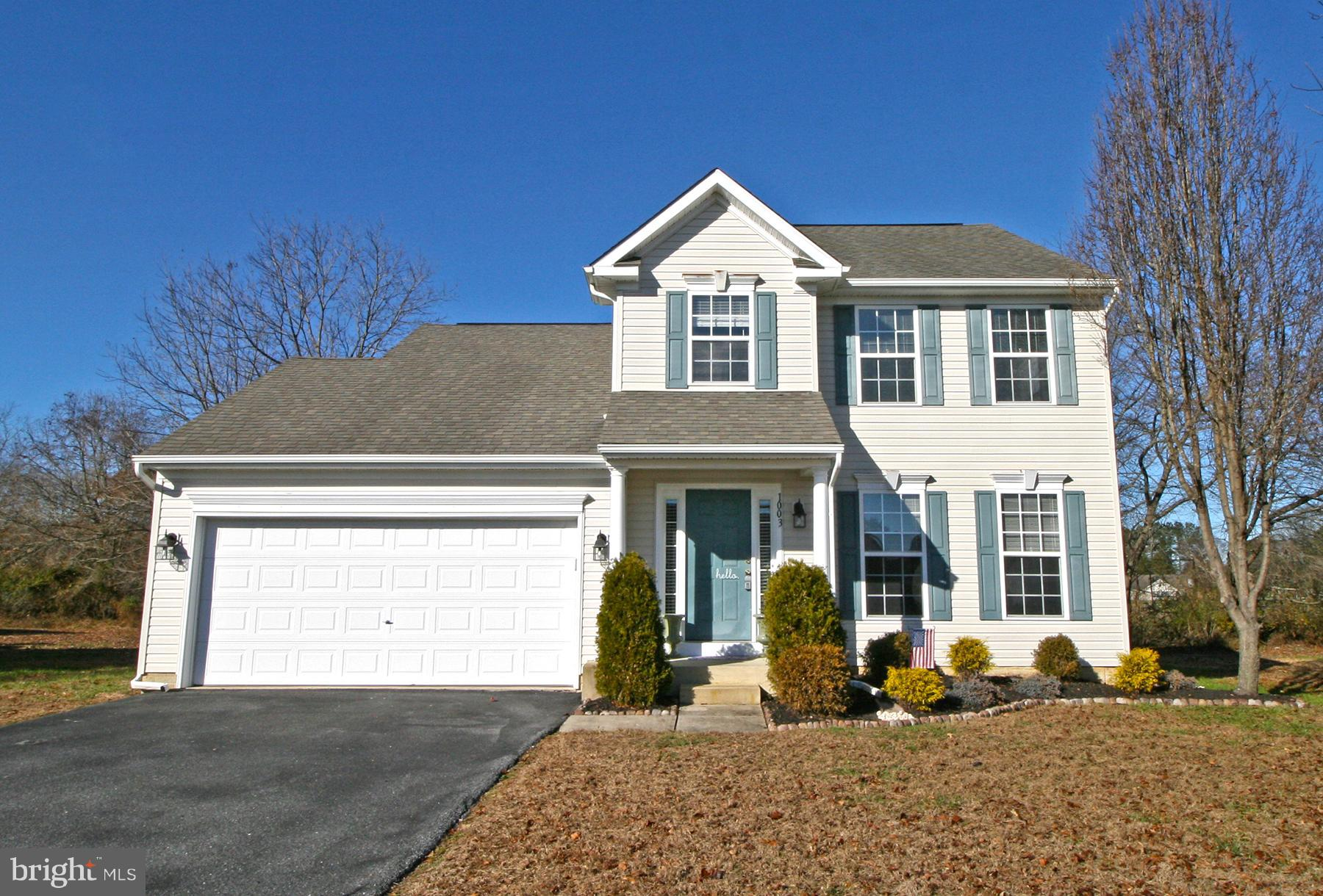 Newly Updated & priced to move! So many options in this gorgeous contemporary colonial home tucked o
