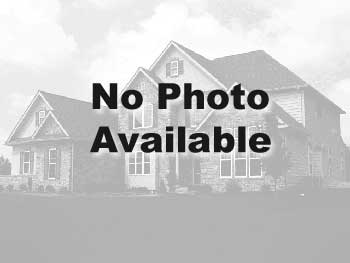 Great starter single family home with charming front porch, flex room or optional study, separate wa