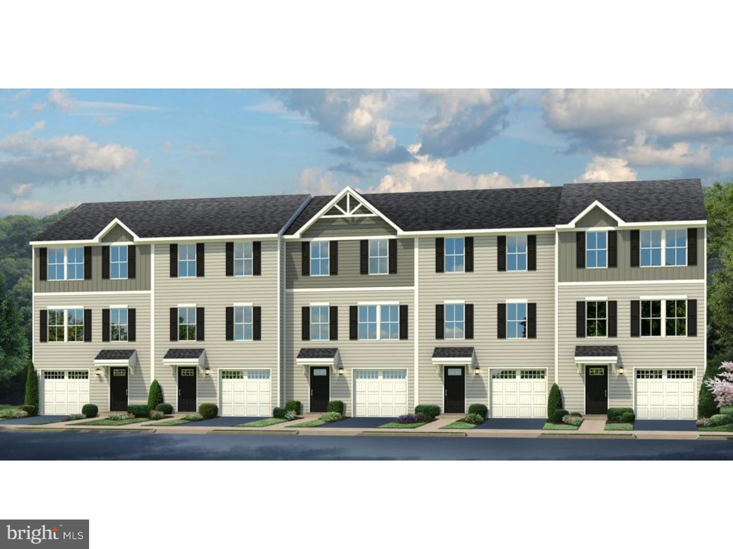 Lowest priced new garage townhomes for less than rent in the northern Middletown area minutes from R