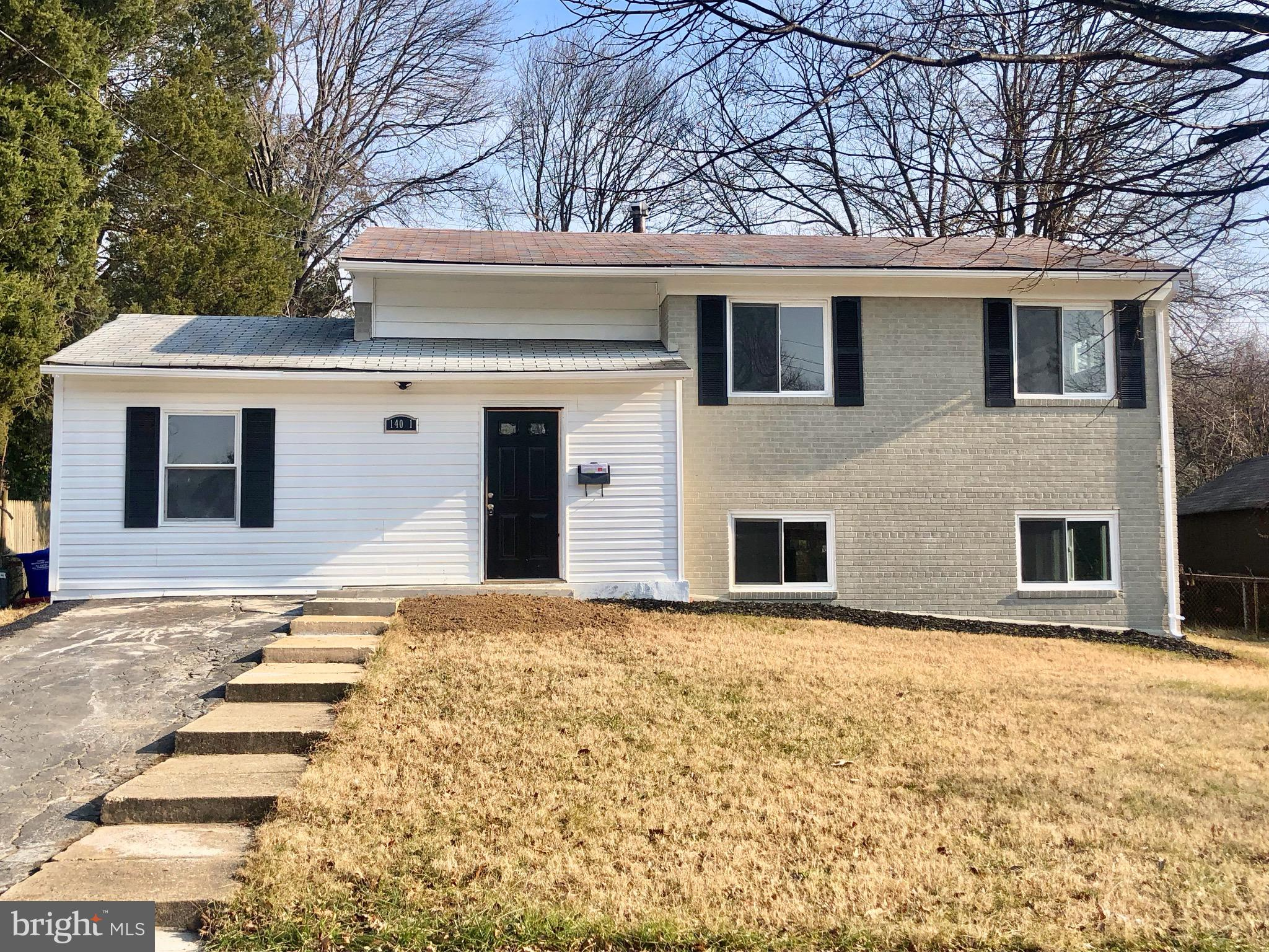 NEWLY RENOVATED!!! New Bathrooms, New Appliances, New Windows, Recessed lights throughout! 1st Level