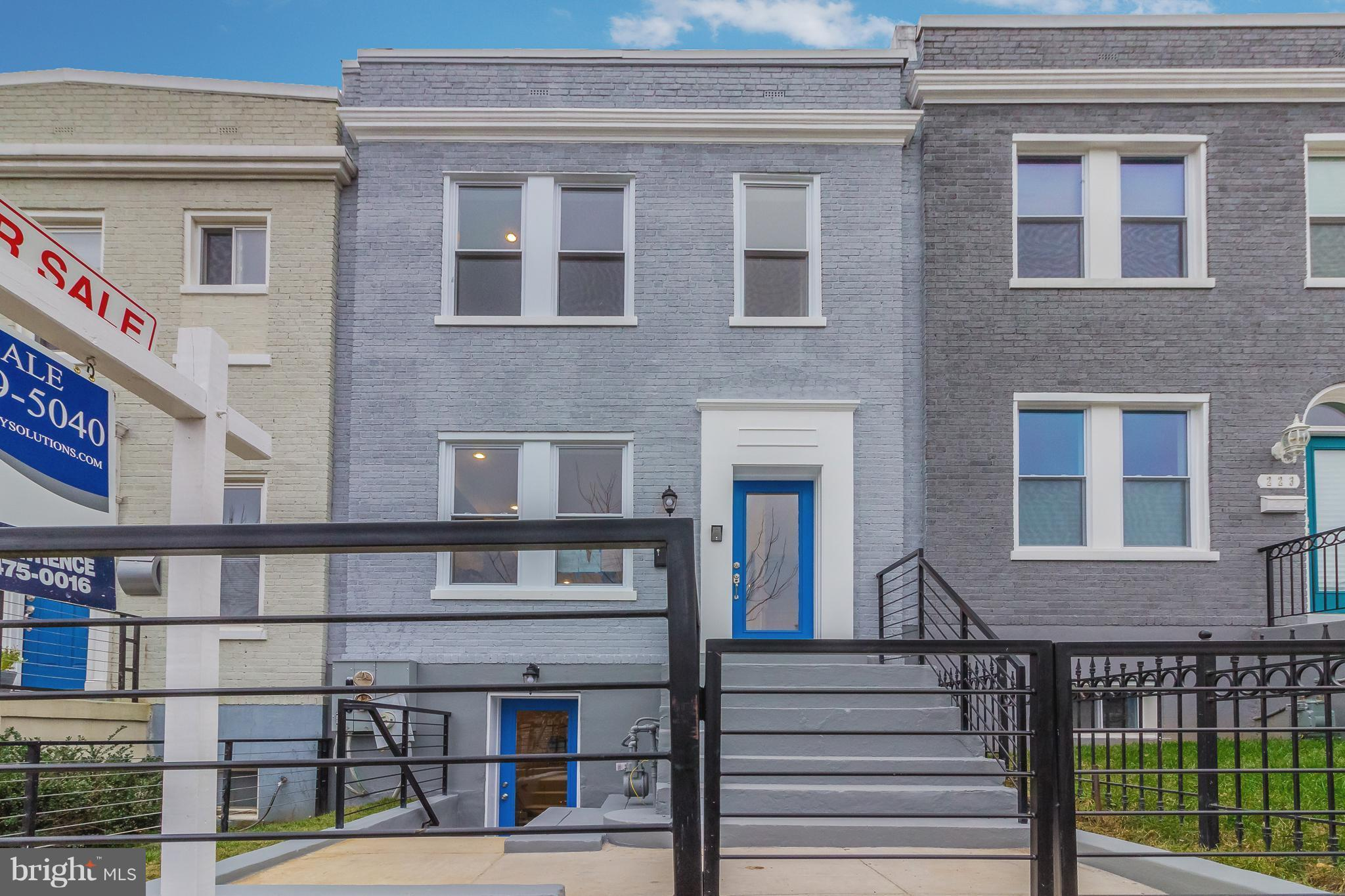 Complete top-to-bottom renovation in the heart of Brookland . Duplex with 2 self-contained units. De