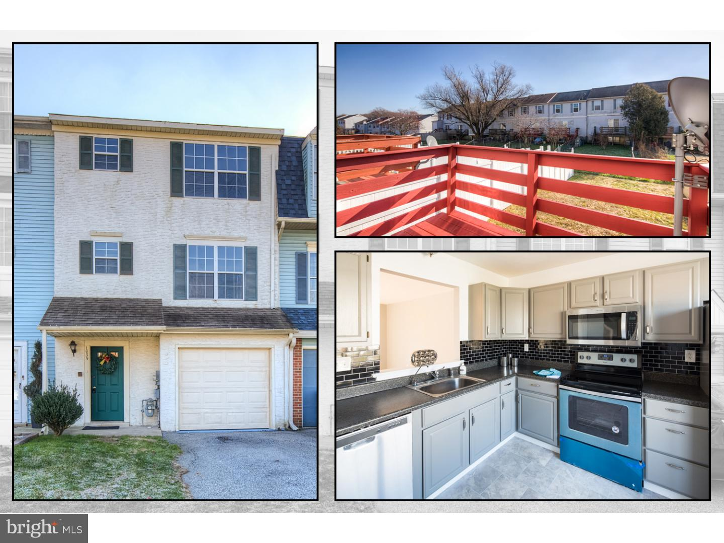 This meticulous 3 bedrooms 1/1 bath townhouse with 1 car garage in New Castle has been prepared for