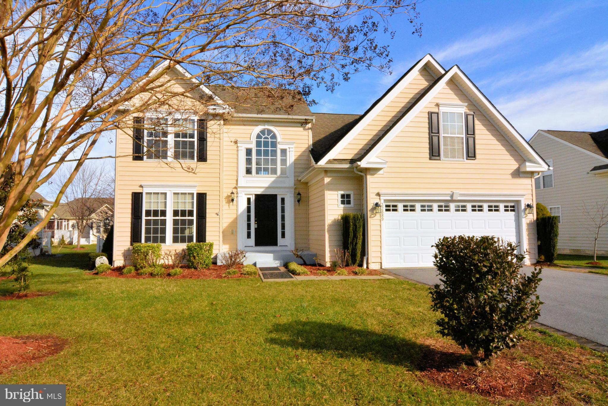 This lovely move-in ready home in Henlopen Landing  is spacious enough for all your entertaining nee