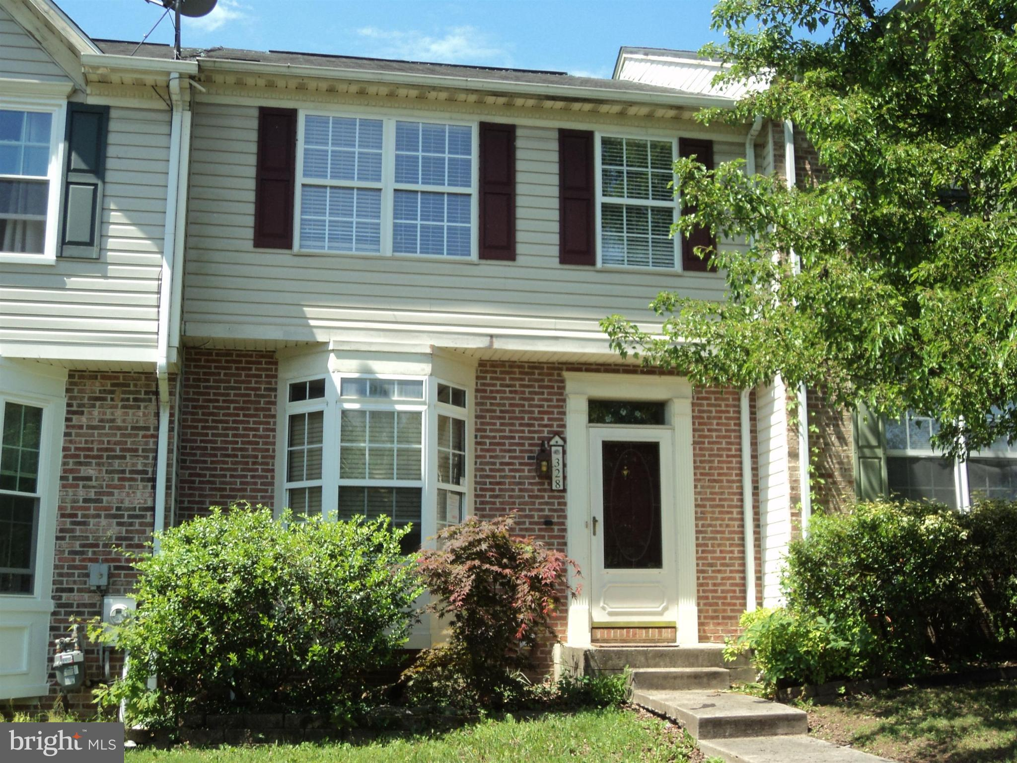 3 level townhome  minutes from schools, shopping & major routes.  Submit bids & registration at http