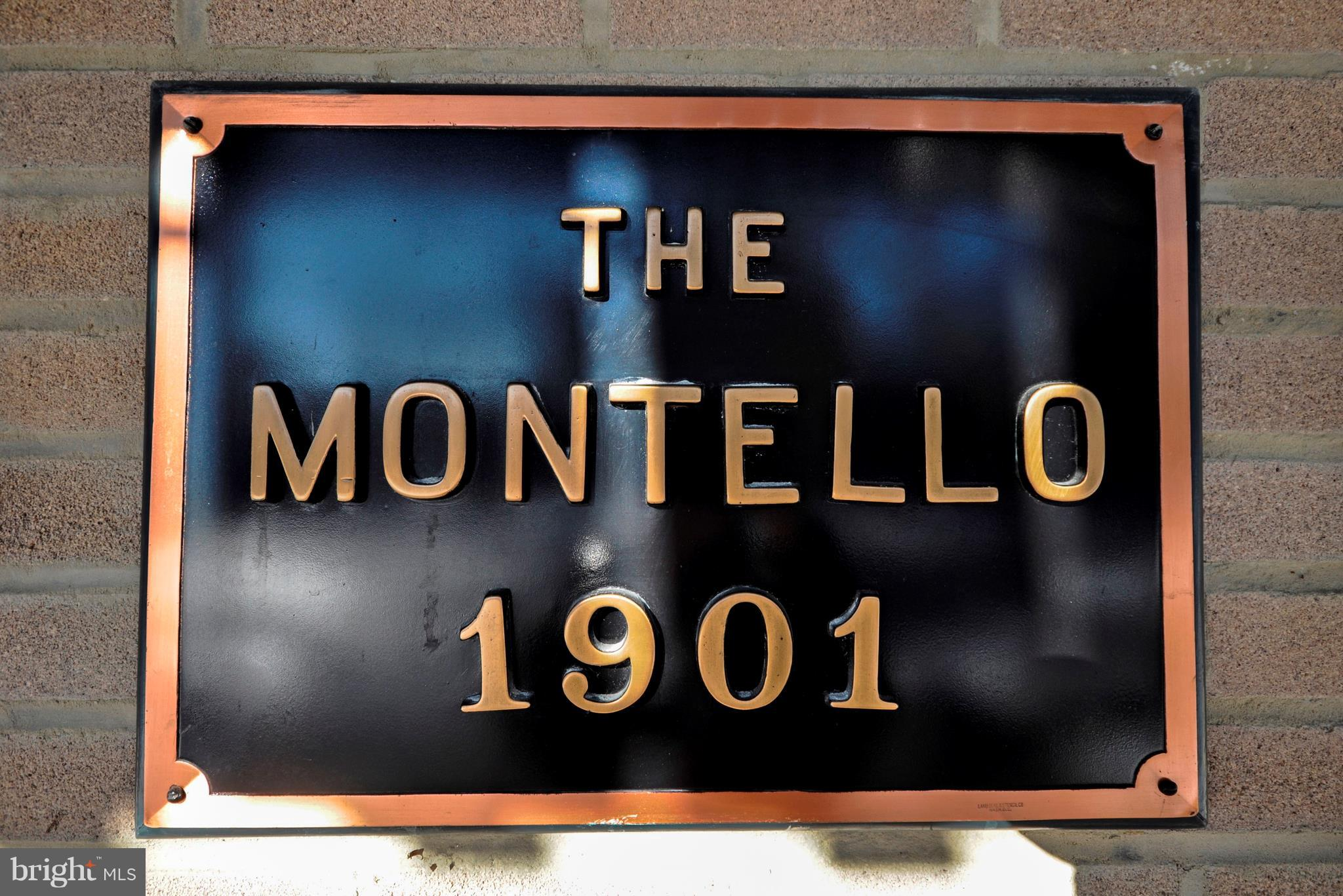Rare opportunity for a sun-bathed 1 bedroom, 1 bath unit at the Montello  in the heart of Kalorama T