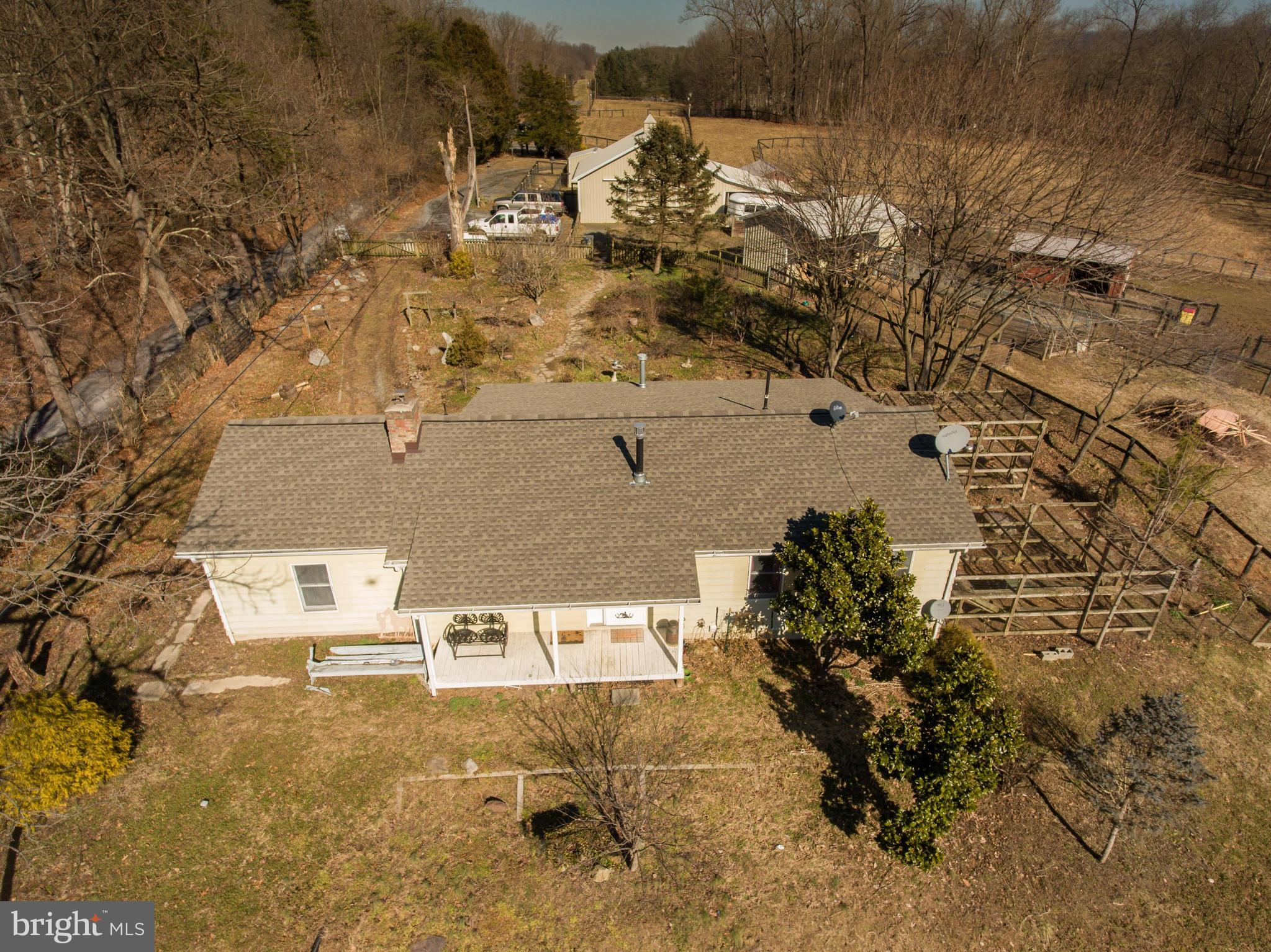 Beautiful Farmette situated on 6.7 acres just inside Clarke county making it convenient for NVA and