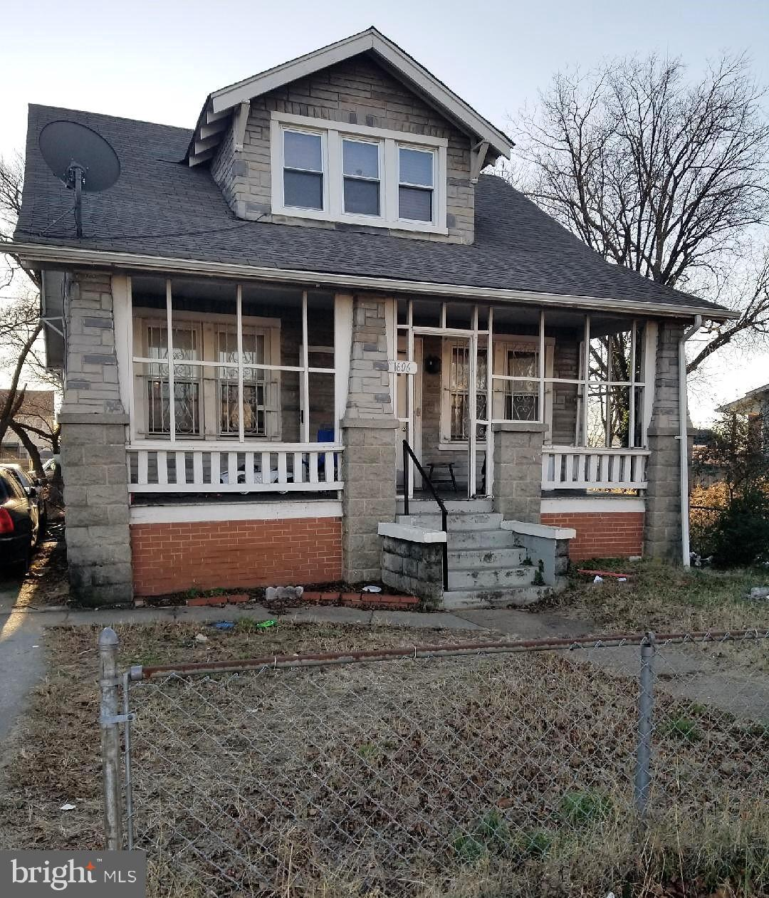 Renovation Special! Opportunity for an investor or home buyer looking to renovate this 4 bed, 2 bath
