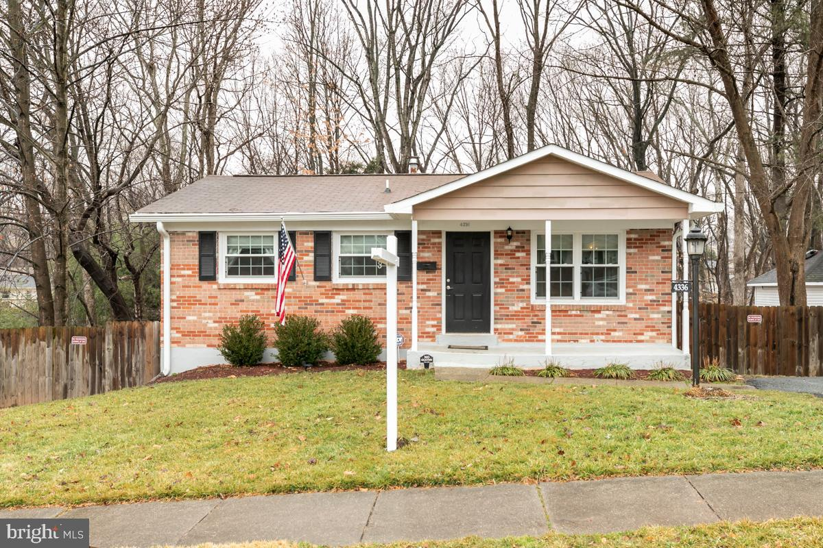 Welcome home to this freshly painted 3 bedroom and 2 full bath Rambler. The bedrooms and the formal