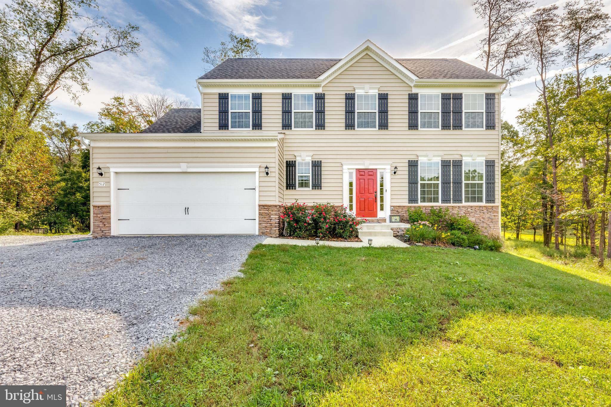 Welcome Home! Beautiful 4 bedroom, 2.5 bath Colonial on a private 2 acre+ lot is everything you want