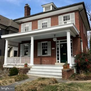 Charming front porch colonial with great expansion potential. Bright and inviting living room w/wood