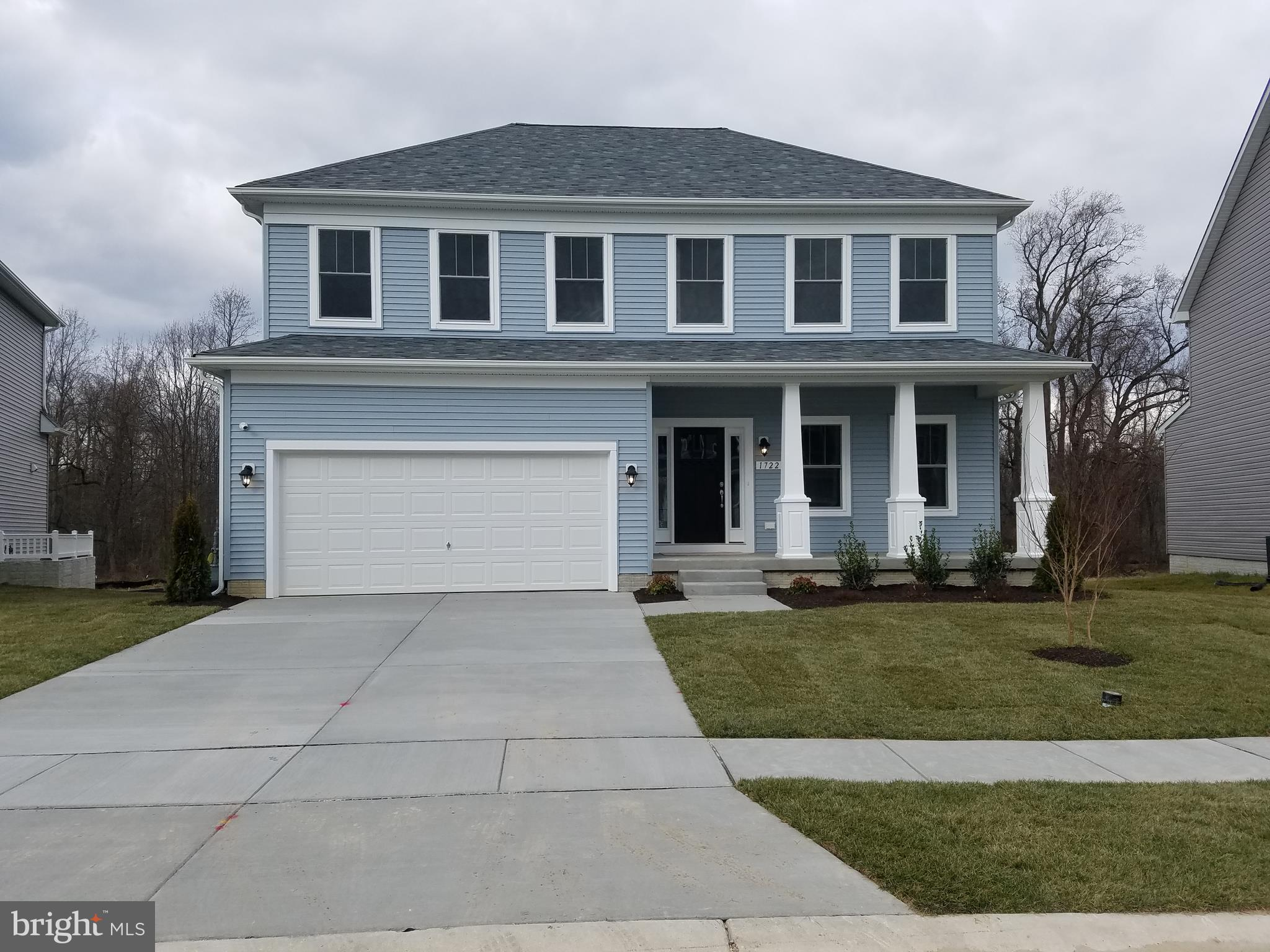 WESTOVER - TO-BE-BUILT.   Listing for description purposes only.  Baldwin Homes Westover floorplan a