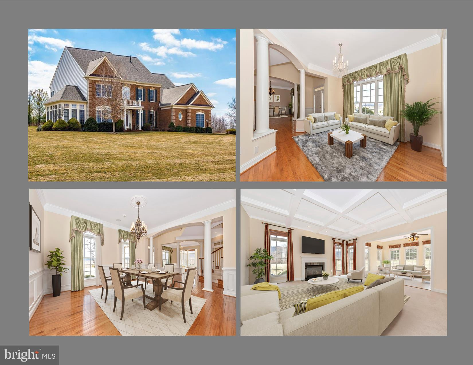 Upgraded Immaculate & Pristine Residence Rests Majestically On A Slight Knoll Consisting Of  Approxi