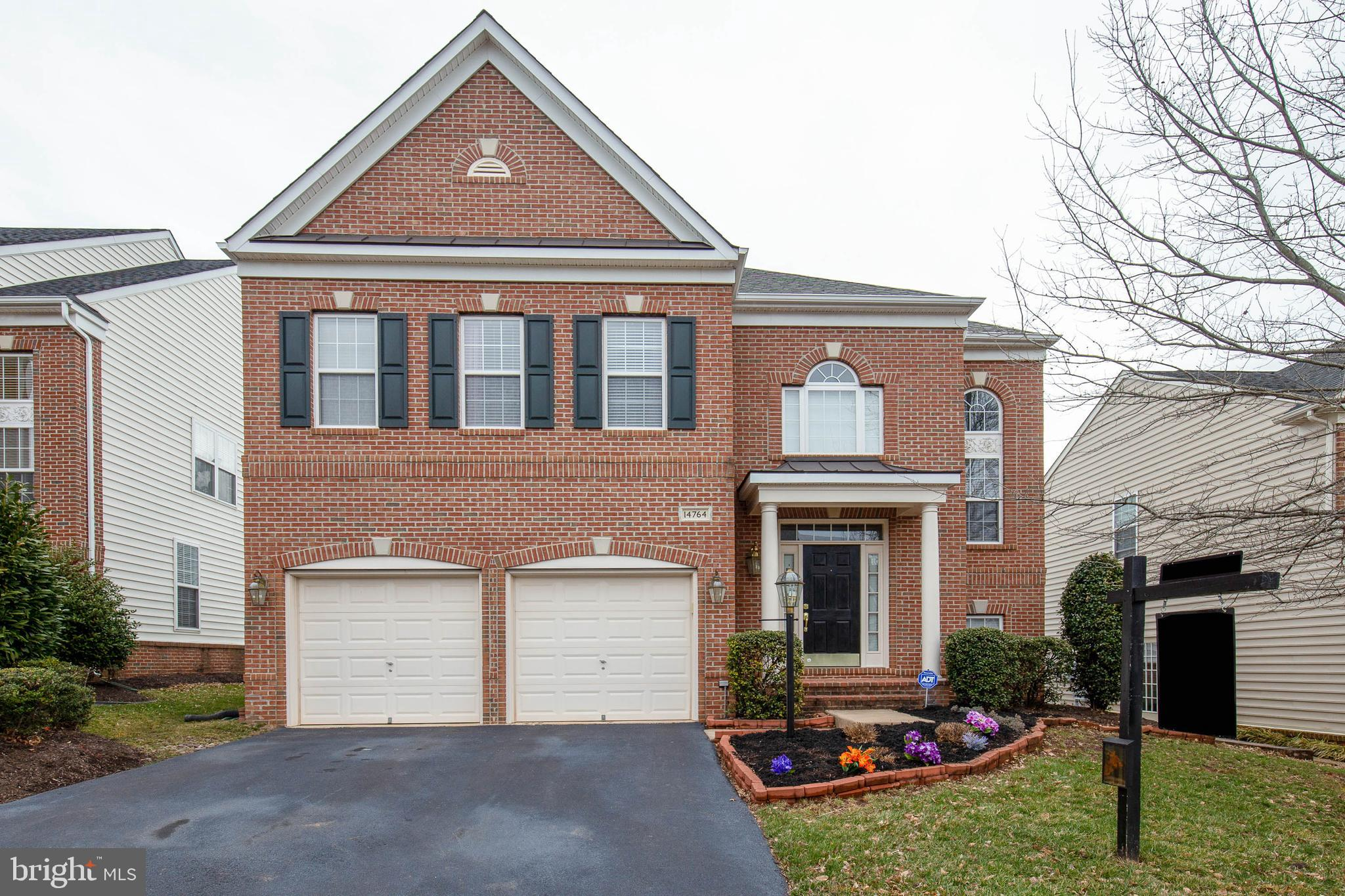 Stunning 4BD/3.5BA brick front colonial with over 4300 fin sq ft in Piedmont Mews!  Bright and airy