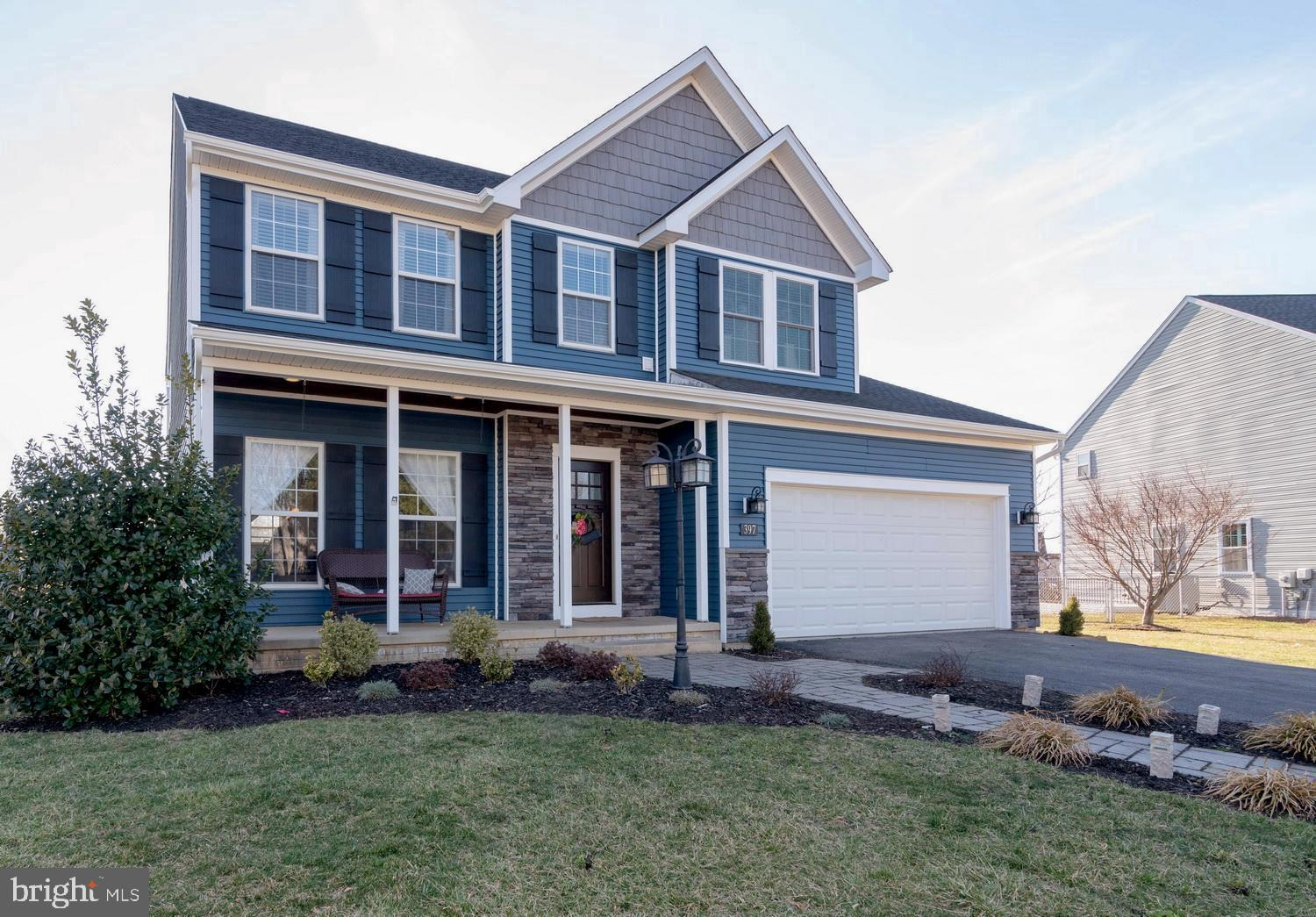 Adorable Colonial-style home that looks like new!  Brand new roof and siding in 2018. Beautiful mold