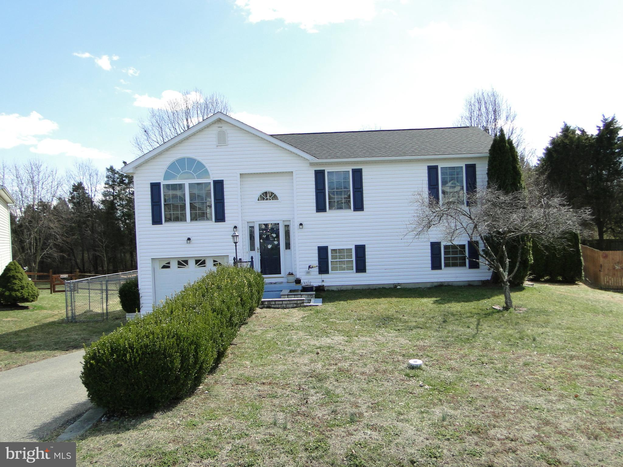 Don't miss out on this lovely 4 bedroom, 2 bath, split foyer home on a culdesac and in a fantastic f