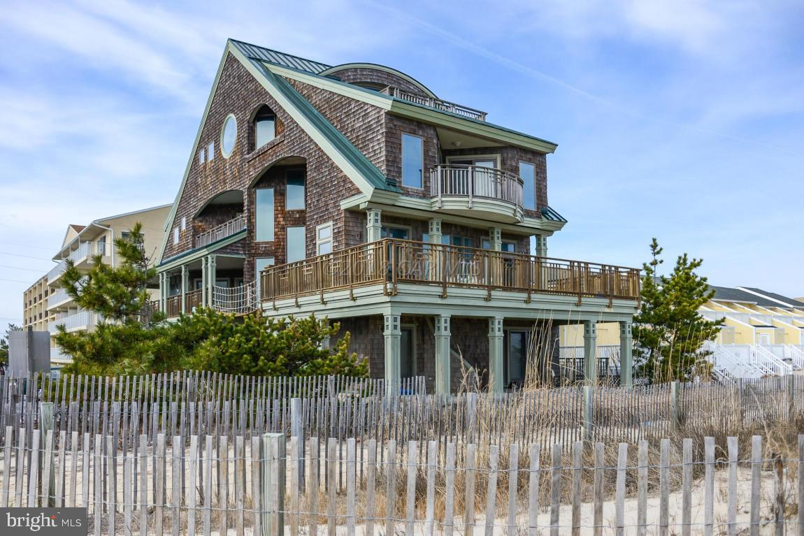 The grandest of all homes ON THE BEACH in Ocean City Maryland!   This custom built home is beyond co