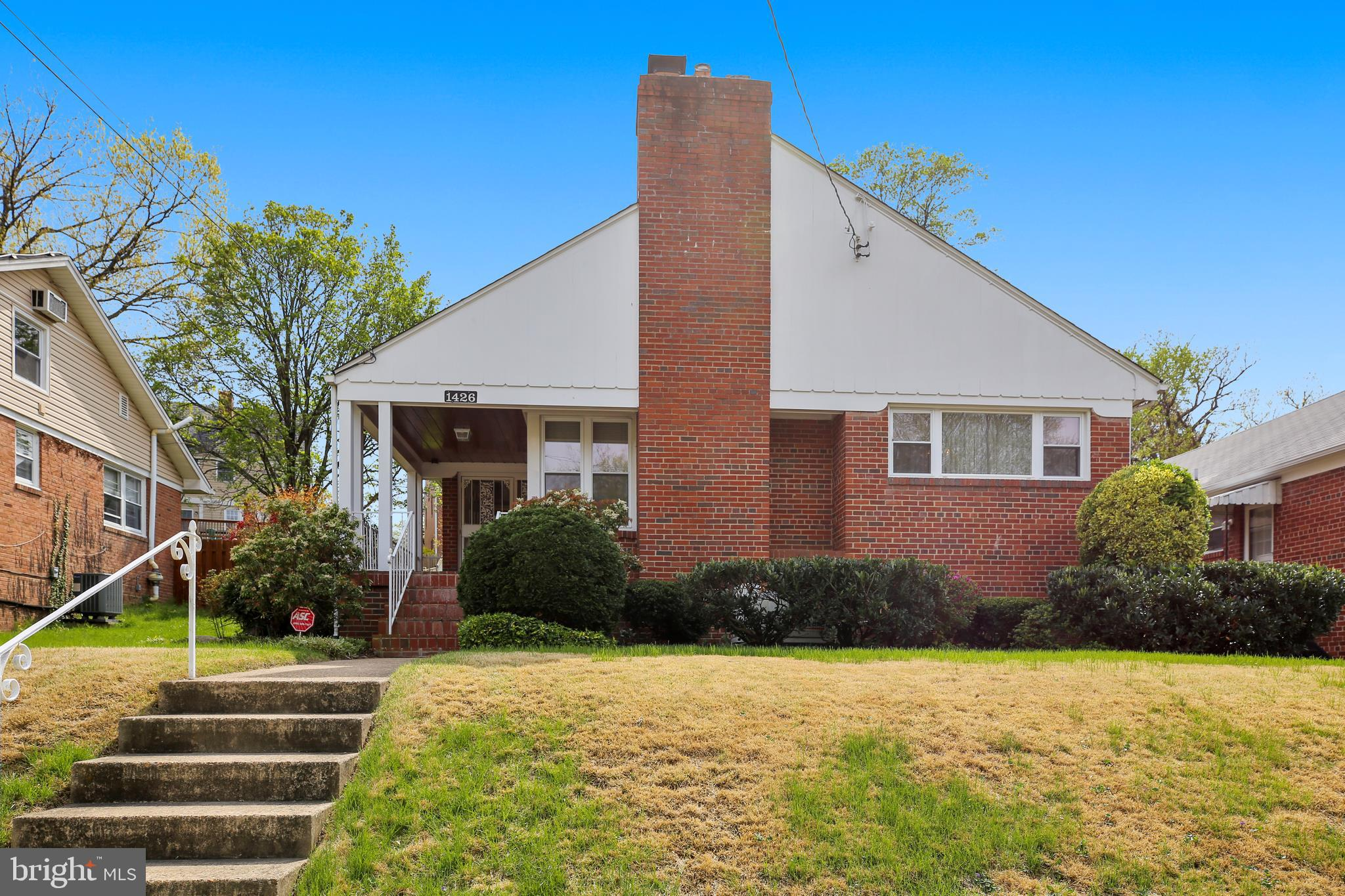 Welcome to this beautiful, well maintained, sunlit, brick rambler in the sought after neighborhood o