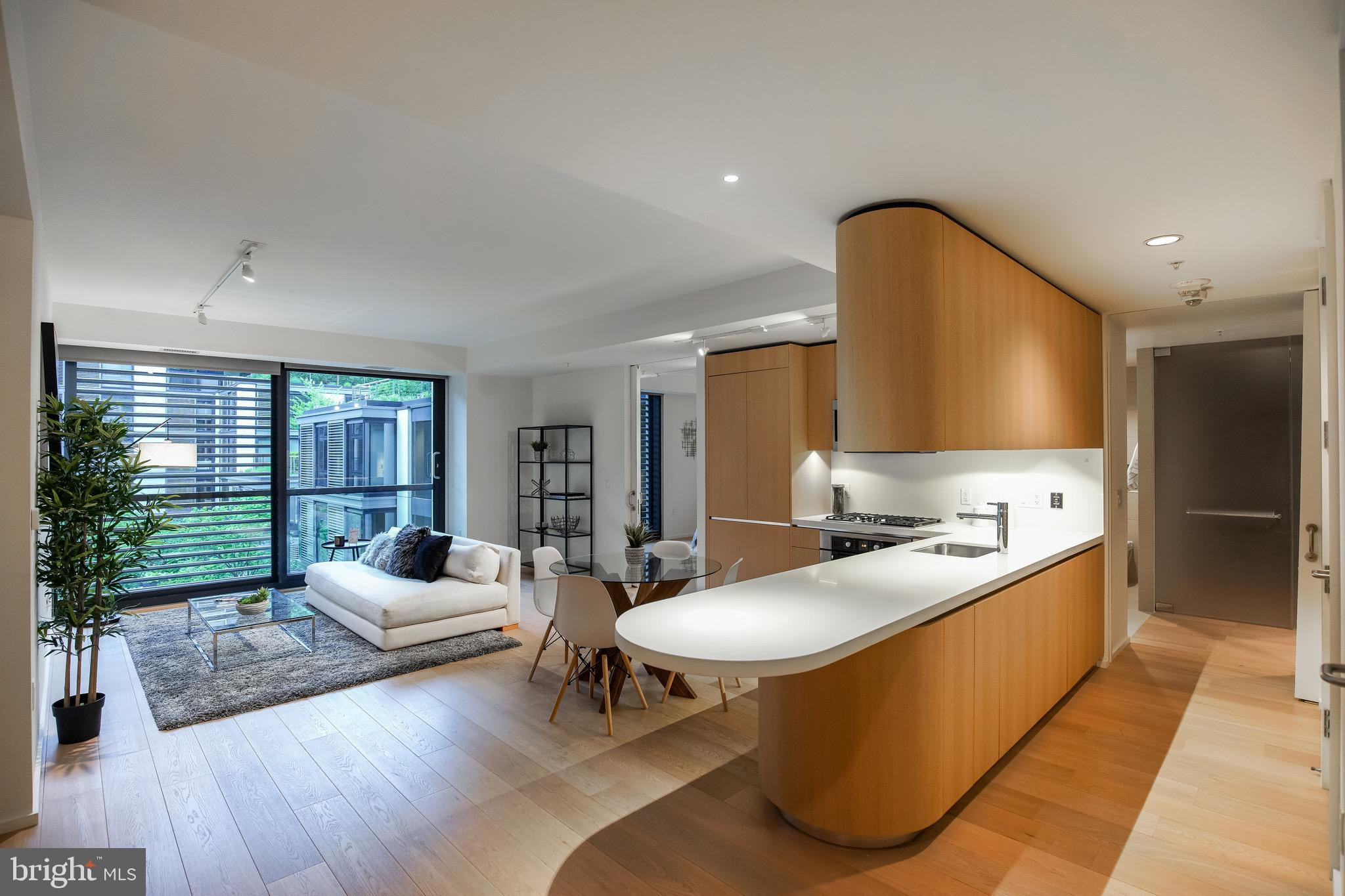 Residence 609 in the I building at CityCenter  is a charming, two -bedroom, two-bathroom home that i
