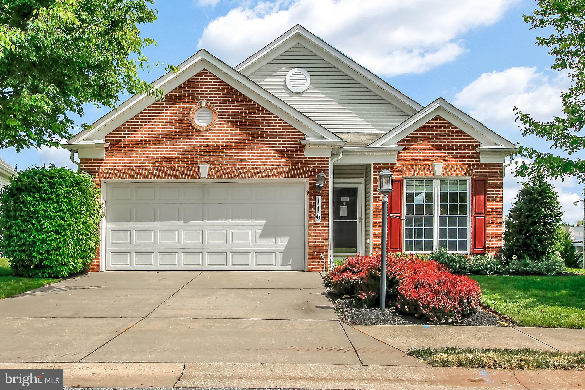 Well priced opportunity to own in Carroll Vista adult community with clubhouse, indoor and outdoor p