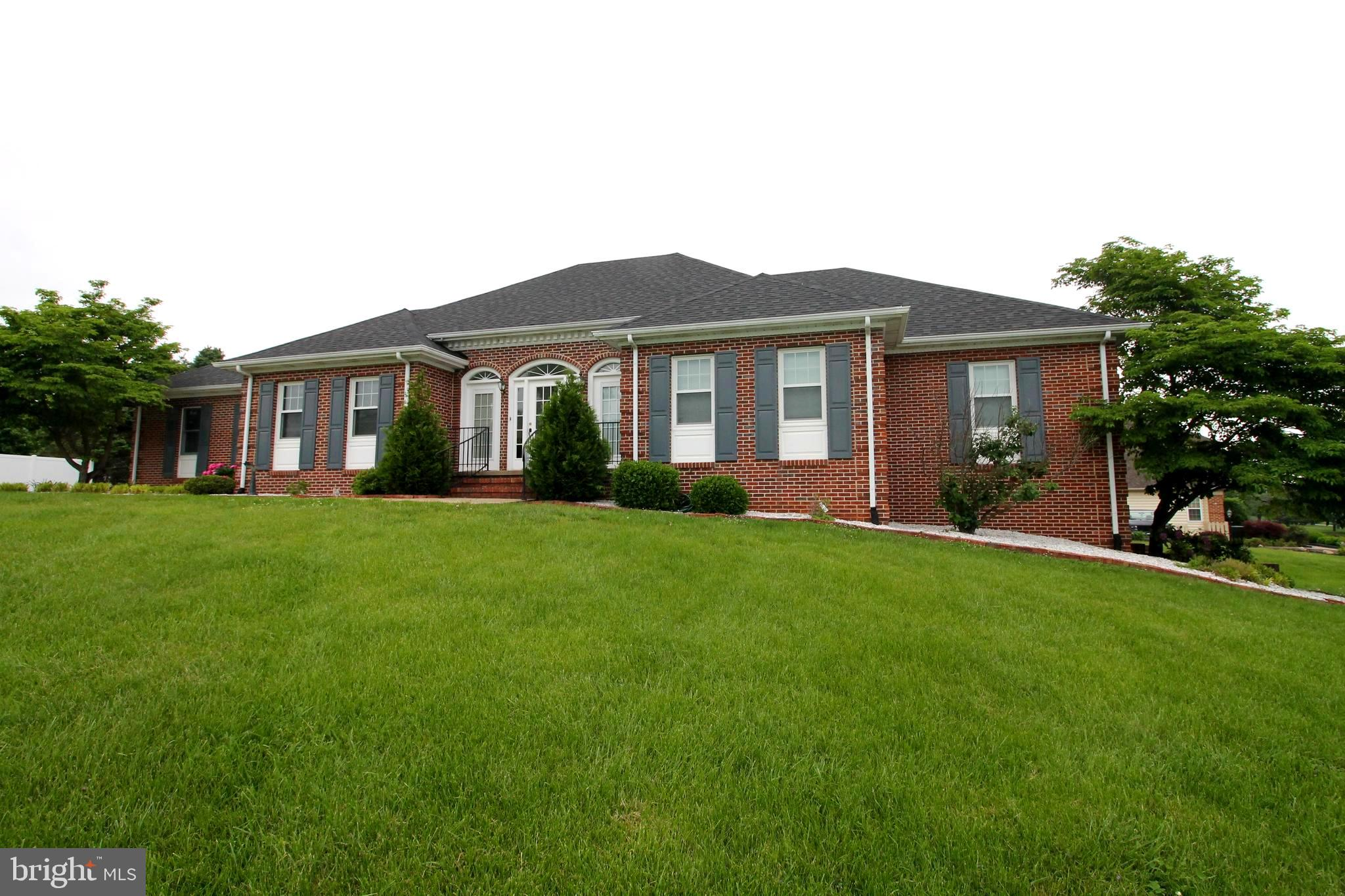 Elegant brick home in the desirable Eastland community.  Quality and pride of ownership shows throug