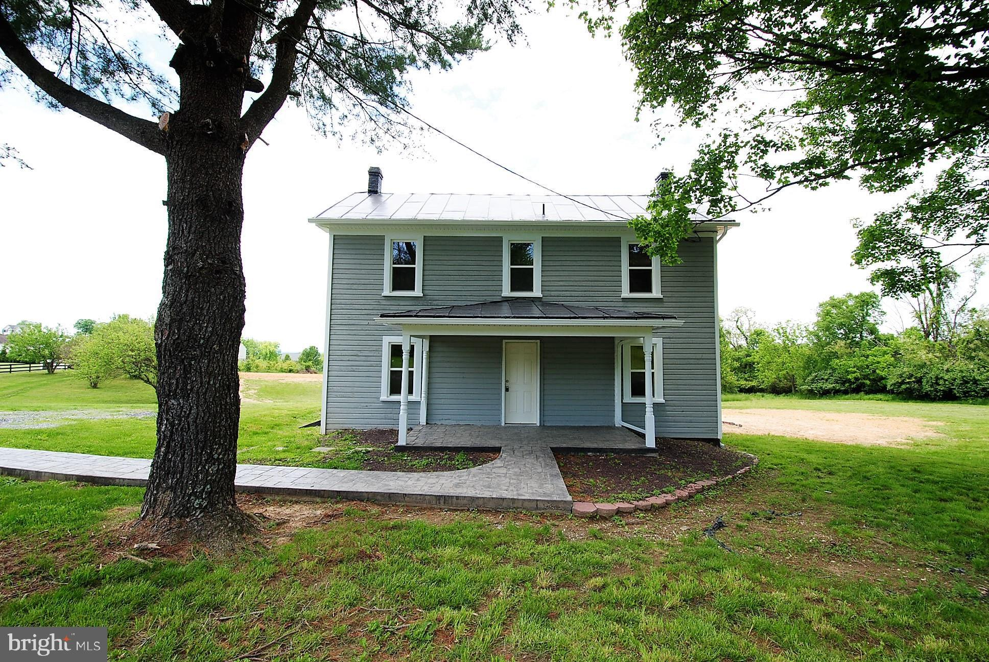 This 5 acre property has a BRAND NEW 4 BEDROOM CONVENTIONAL SETPTIC SYSTEM! The charming farmhouse h