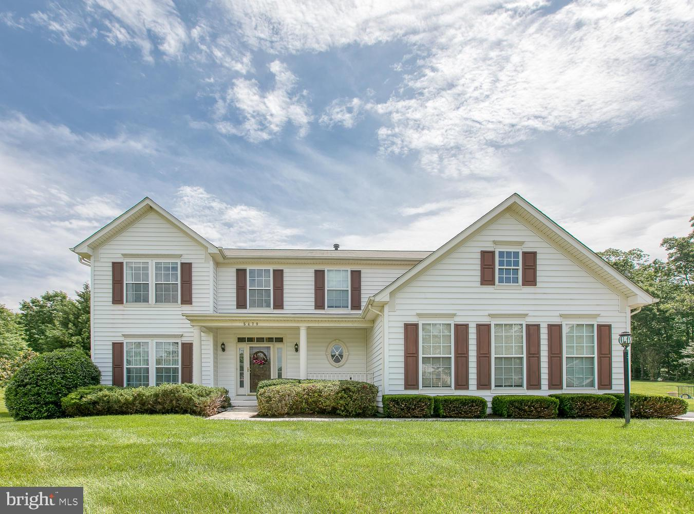 This Absolute Pristine freshly painted Colonial Home located on premium 1/2 acre lot that backs to w