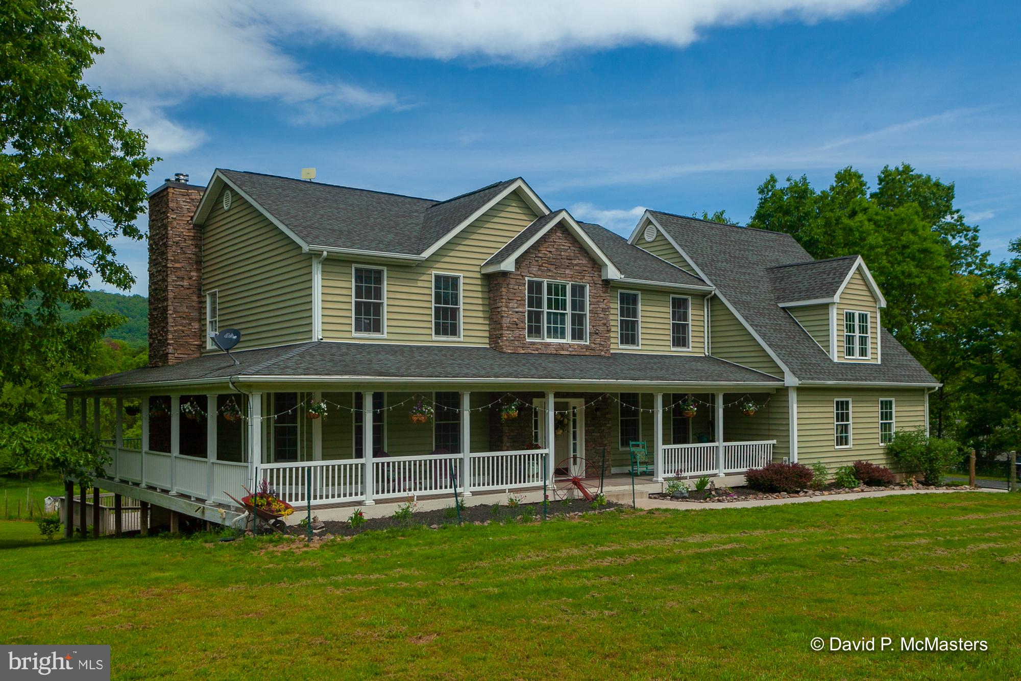 You'll love this gorgeous 5br/4ba custom built home on 5 acres overlooking private pond. Spend your
