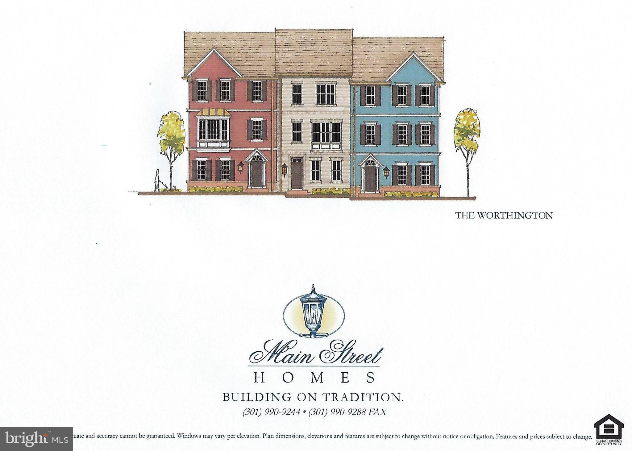 The 24 Foot Wide Townhome by Main Street Homes is back - but with an all new Open Concept Floorplan!