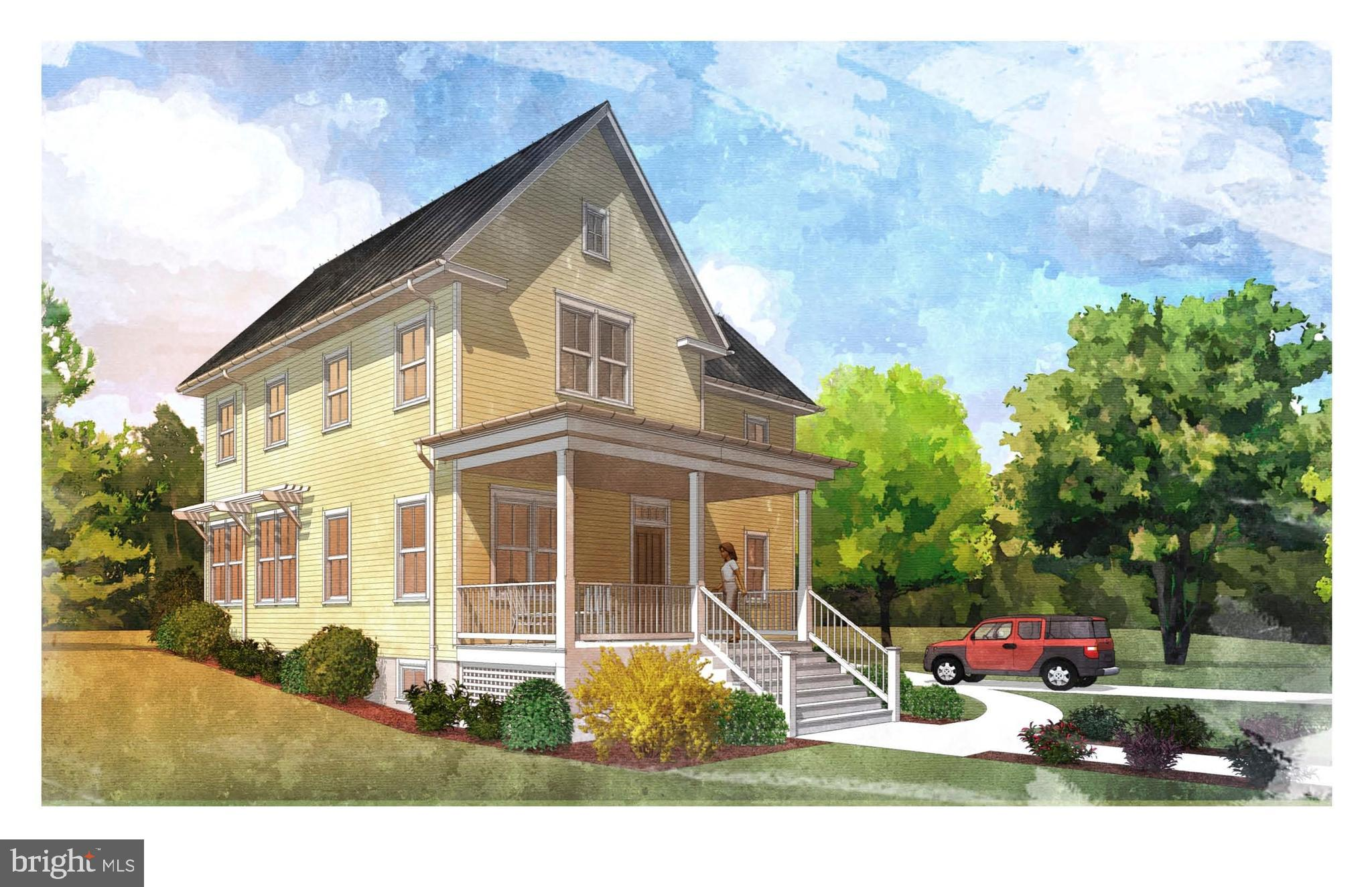 Chalk Farm is a hamlet located in Western Loudoun with custom designed farmhouse. Lot 6 is one of 2