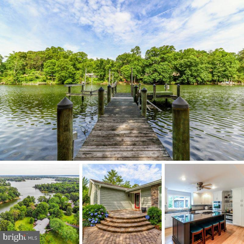 Gorgeous, updated waterfront rambler, impeccably cared for, in a phenomenal location - tucked away i