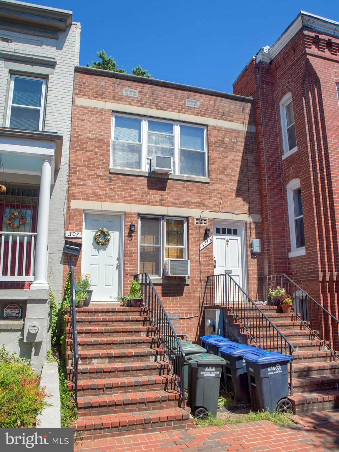 INVESTOR/Owner ALERT! Highly desirable Capitol Hill! Superb two story brick building with TWO equal self contained one bedroom units , one on each floor. Deep rear yard. In good condition but sold As IS