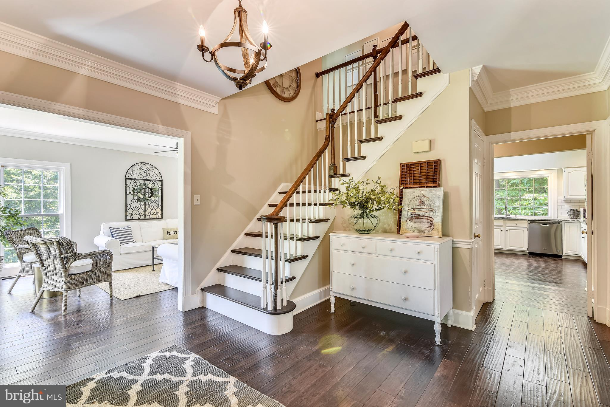 This beautiful, spacious (~4,405 sf of living space), updated home is located on the coveted street
