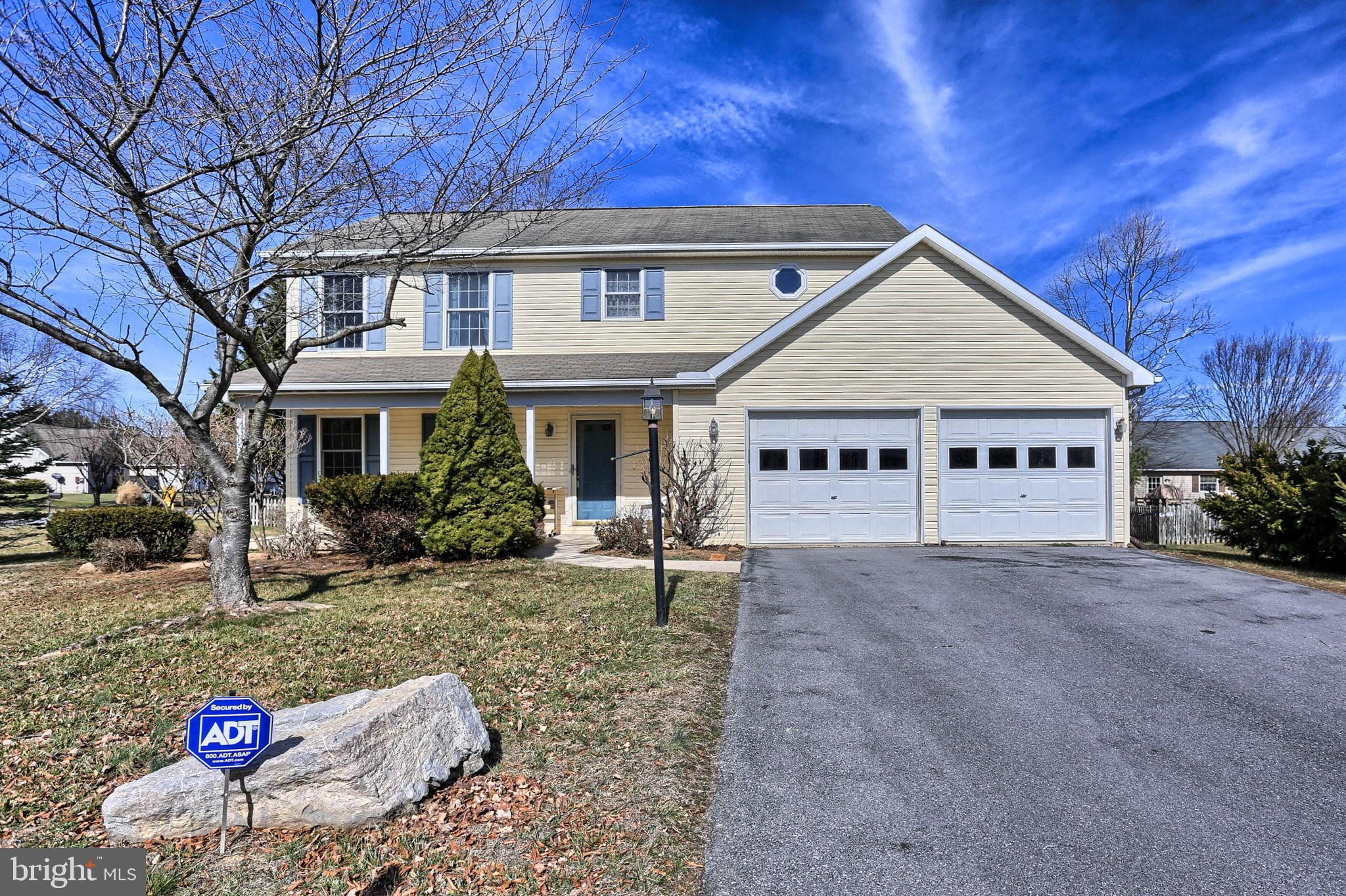 Nice Colonial on corner lot in the much sought after Spring Mills Subdivision. This home features 3