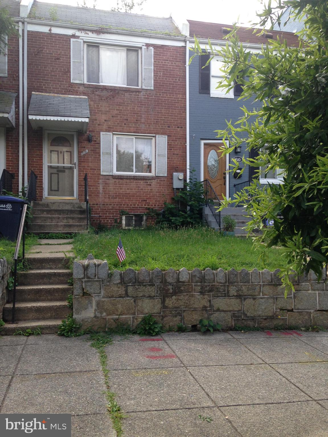 In the highly sought- after Capitol Hill area, this  property has excellent renovation potential and