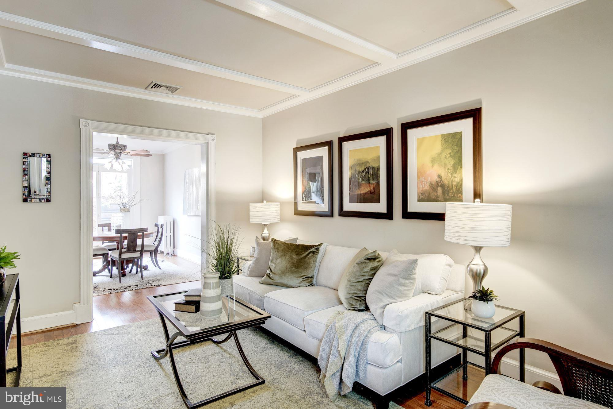 Welcome to this wonderful home on Newport Place, NW, one of the most charming blocks in Dupont Circl