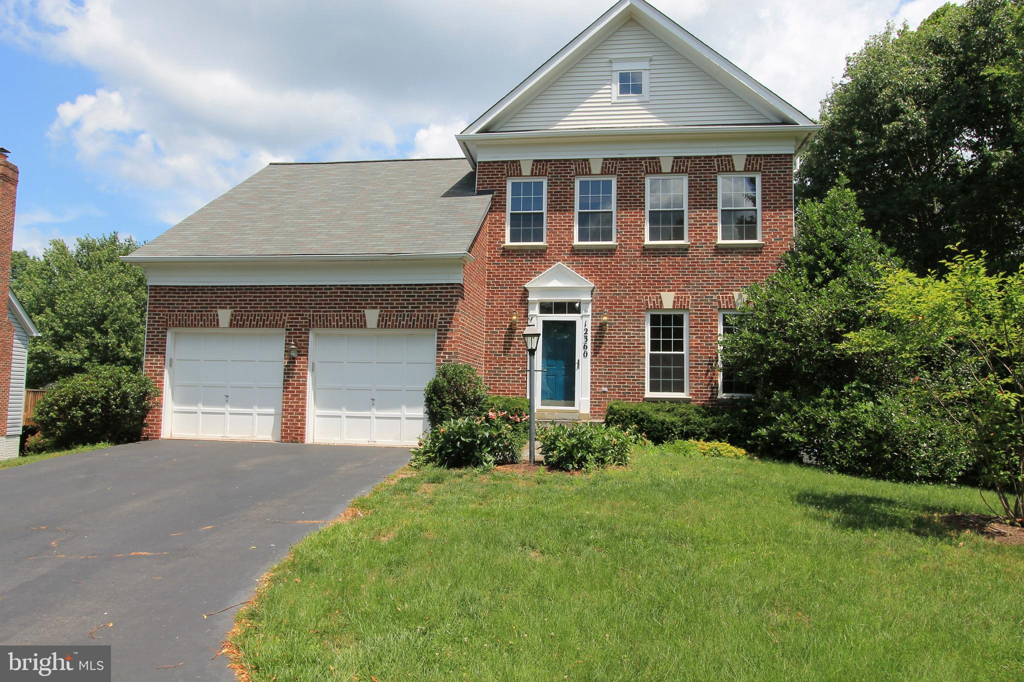 Many Updates to this Brick Front Colonial Home that sits at end of Wooded PipeStem.  Many Upgrades t