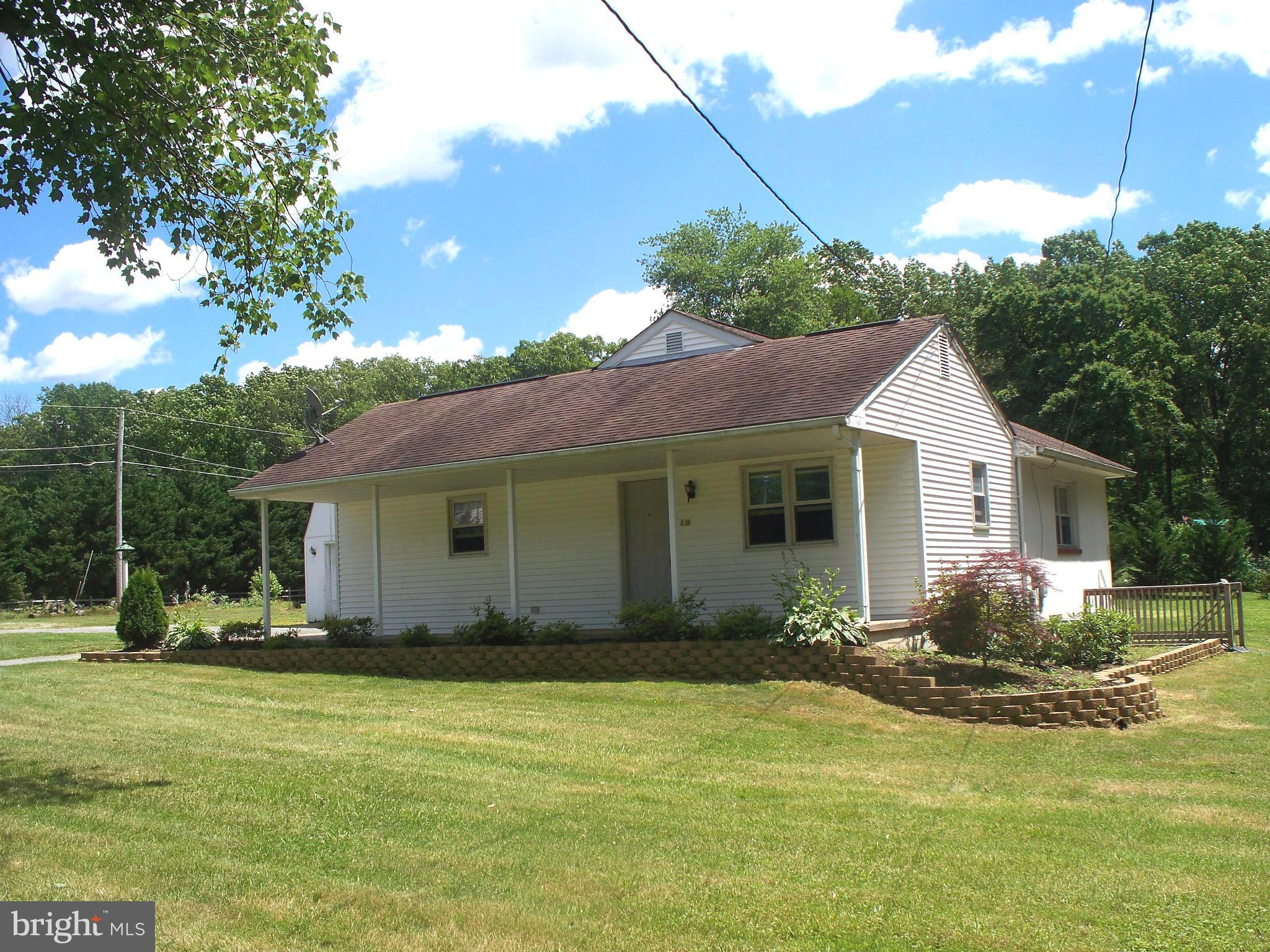 Open Floor Plan, updated rancher on 1 acre at the corner of Winch Road and Linton Run Road, within 3