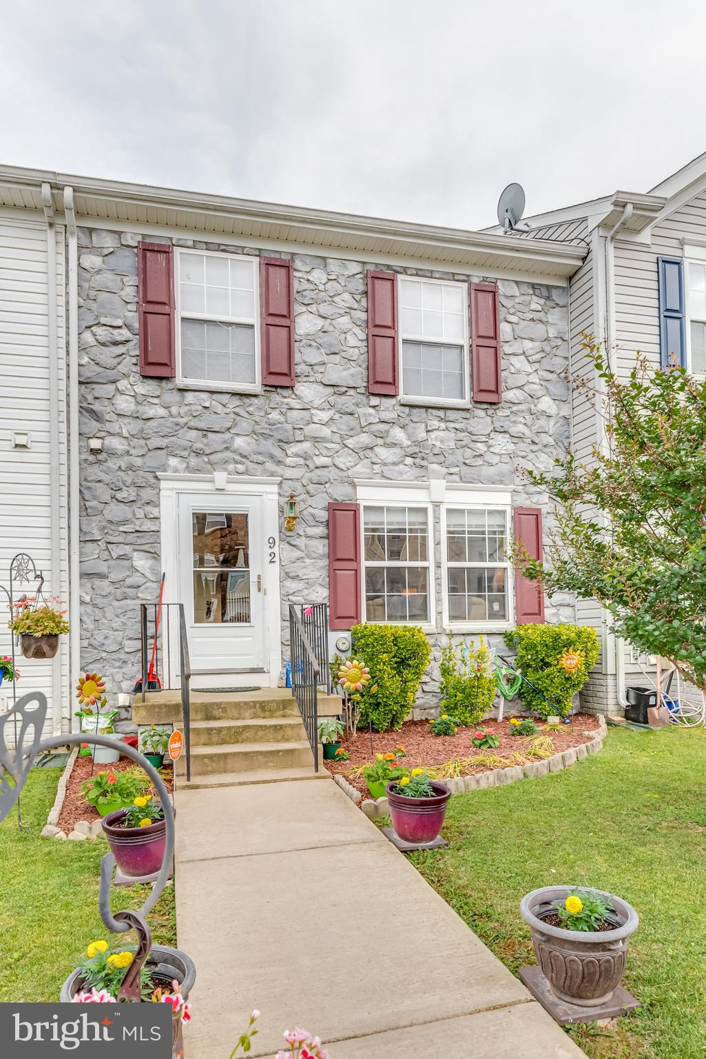 3 Bedroom, 3.5 bath home with partial finished basement. Can be easily converted into a 4th bedroom.