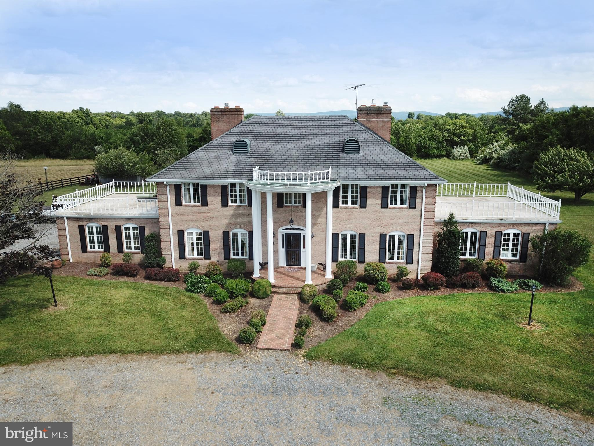 : Warburton Estate ~ Boyce, VA ~ Set on 28 bucolic acres, in the heart of Blue Ridge Hunt Country. T