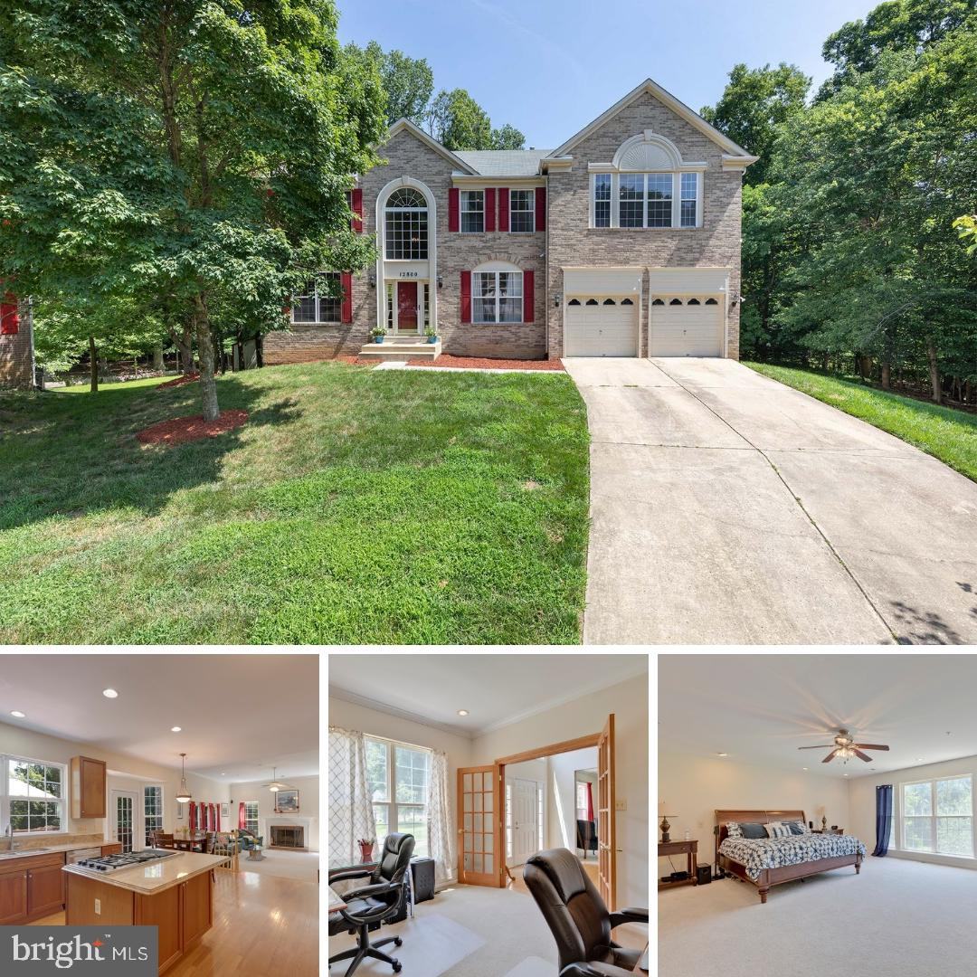 This beautiful, brick front colonial is just the home you are looking for! This stunning two-story f